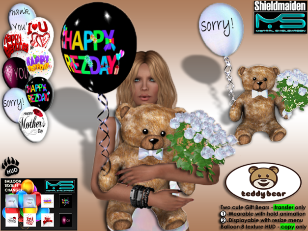 ! Bears VENDOR Teddy Bear v7
